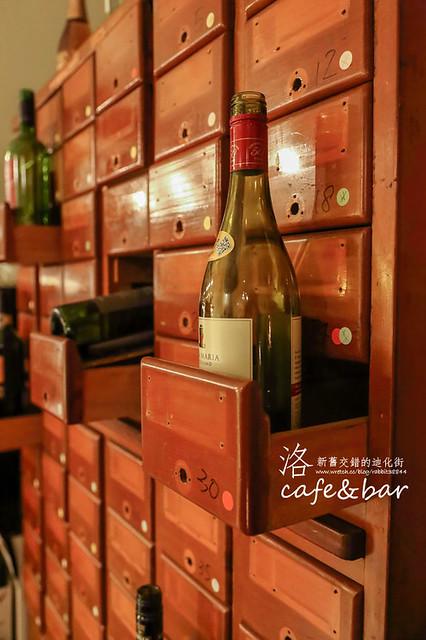 新舊交錯的迪化街-洛cafe & bar