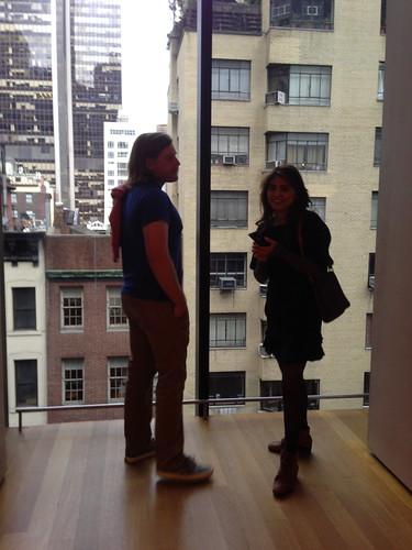 Troy & Daisy at MOCA