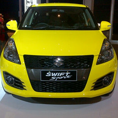Swift Sport Yellow