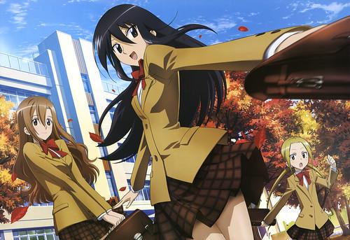 131016(1) - 青春下流校園四格漫畫《生徒会役員共》(妄想學生會)將在2014年1月首播電視動畫第二期!