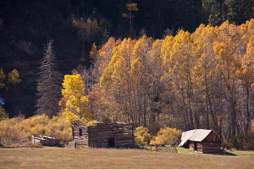 fall landscape colorado sylvanlakestatepark