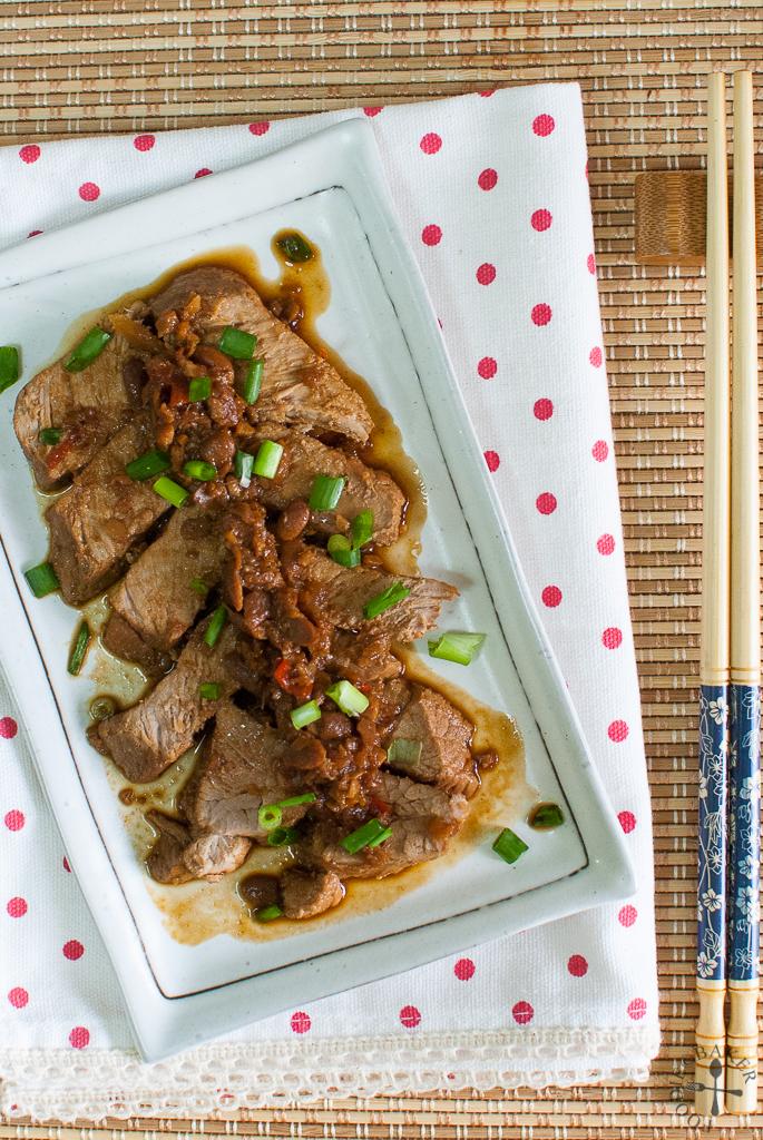 Tau Cheo Pork (Soy Bean Paste Pork)
