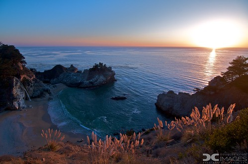 McWay Falls Sunset