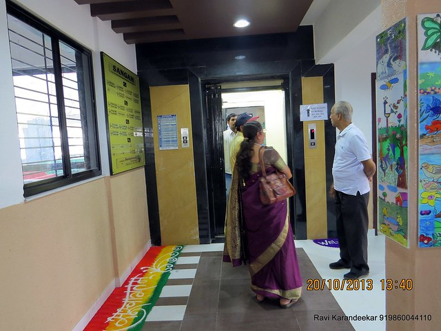 Operational Lift - Handing Over Ceremony of Sanjeevani Developers' Sangam at Sus on Sunday 20th October 2013