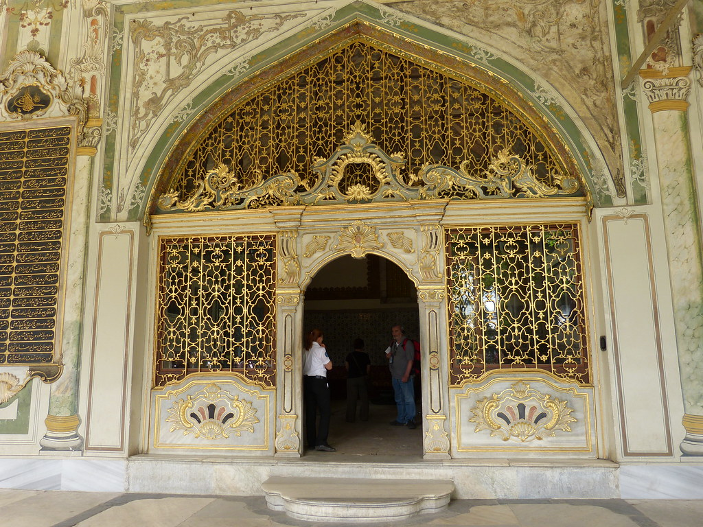 Gate to Divan (Council Chamber), Topkapi Palace, Istanbul