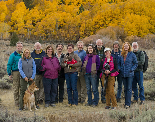 Michael Frye's Fall Colors workshop - class photo