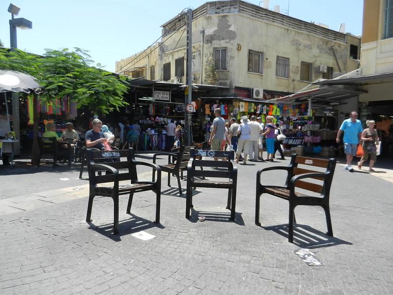 Тель Авив. Возле рынка