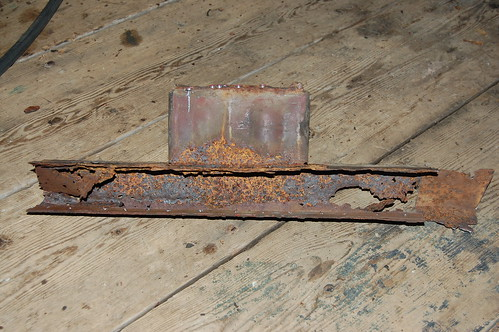 Rotted Radiator Cross Member #1
