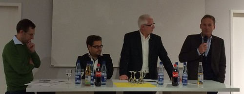 BVB-Fanabteilung: Dr. Wilfried Materna und Hans-Joachim Watzke informieren zu den geplanten Satzungsänderungen