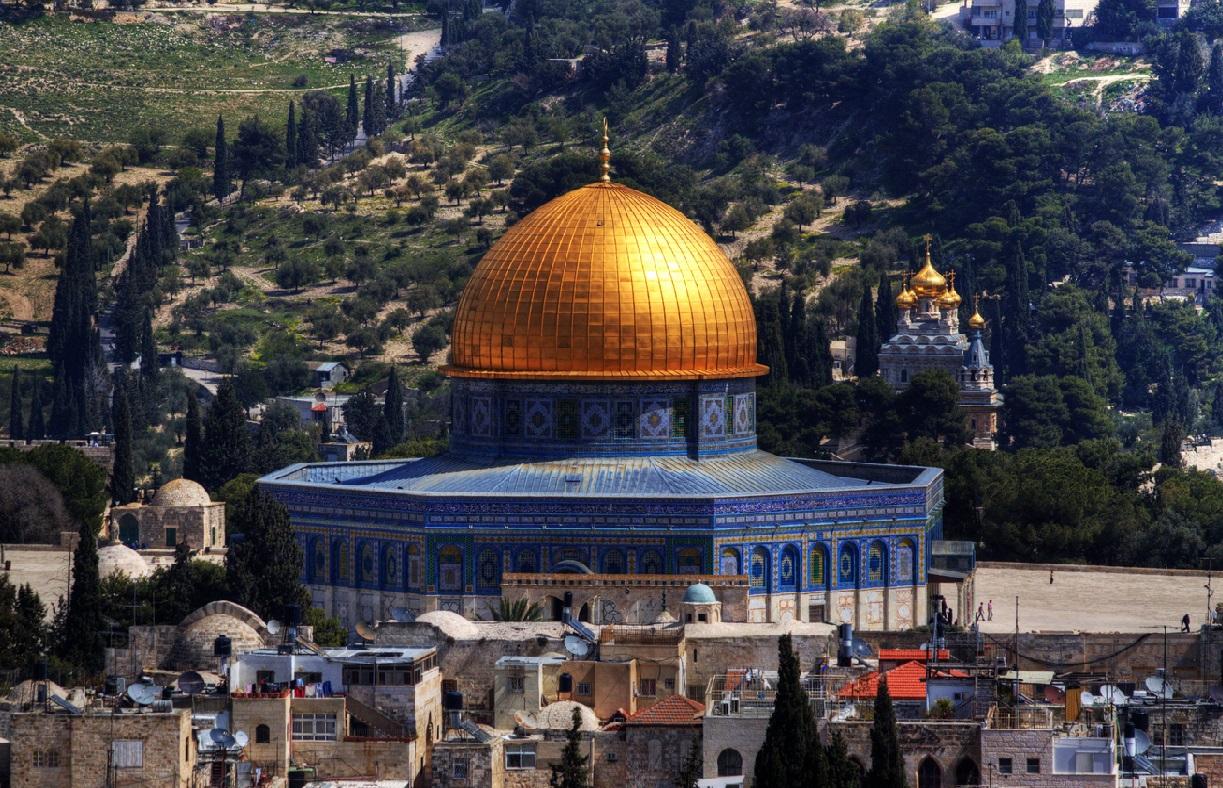 20. Jerusalén y la cúpula de la Roca. Autor, Florian Seiffert