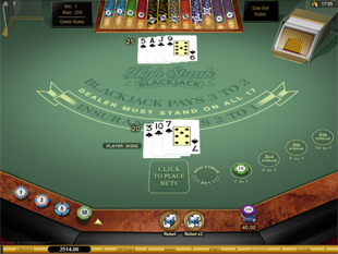 High Streak European Blackjack Gold