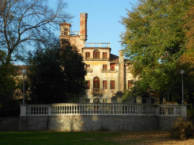 Parco e villa  Centanini, Stanghella