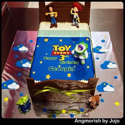Disney Toystory Bed Birthday Cake Bedcake Birthdayc Flickr