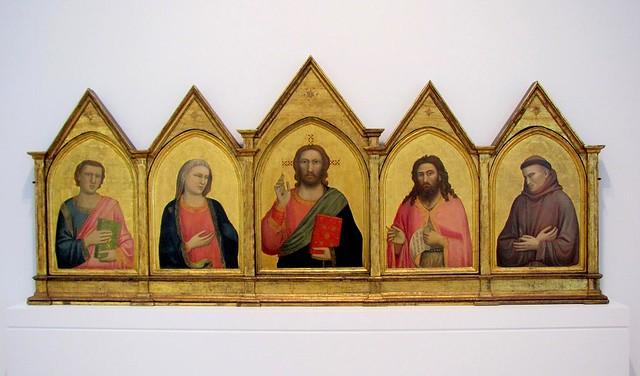 """The """"Peruzzi Altarpiece"""", Giotto 1"""