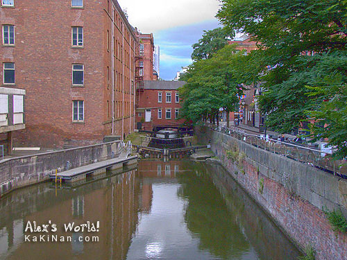 Bridgewater Canal along Canal Street