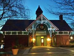 Dana Discovery Center Holiday Lights