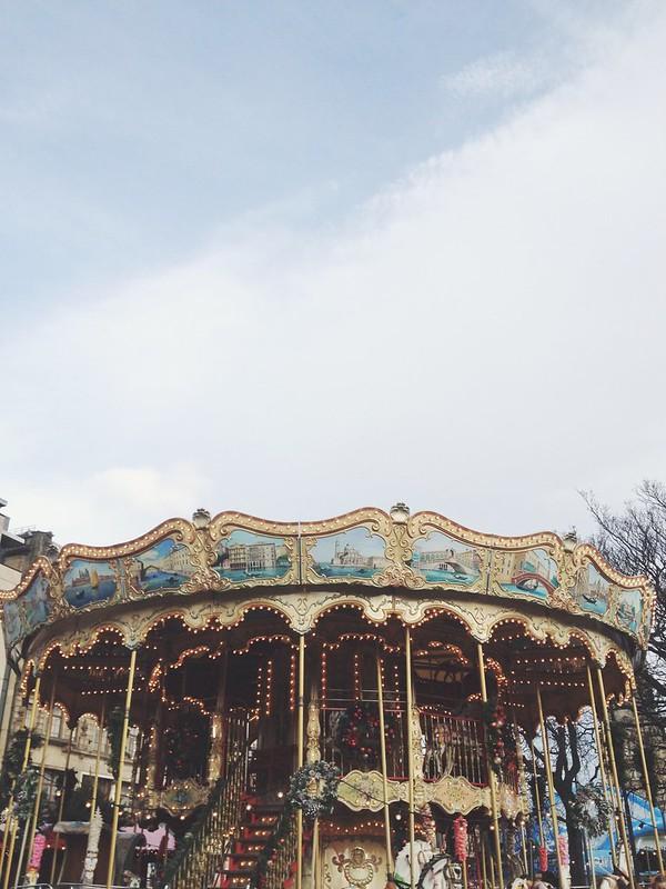 Edinburgh Christmas Market carousel