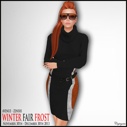 Legal Insanity Kelly Turtleneck - Winter Fair Frost - Zenshi by ♥Caprycia♥