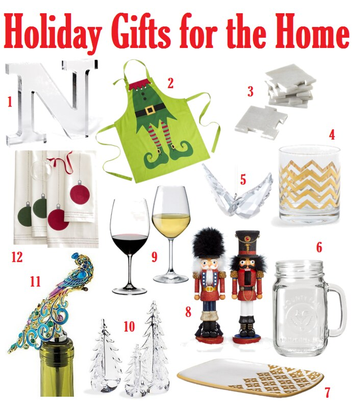 Holiday Gifts for the Home