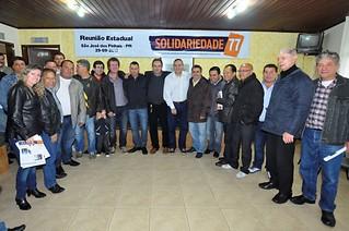 Dirigentes sindicais de importantes categorias profissionais do Estado filiam-se ao Solidariedade
