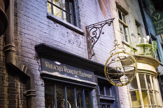 Diagon Alley Harry Potter studio tour