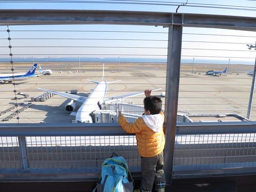 羽田空港に行った 2013/12