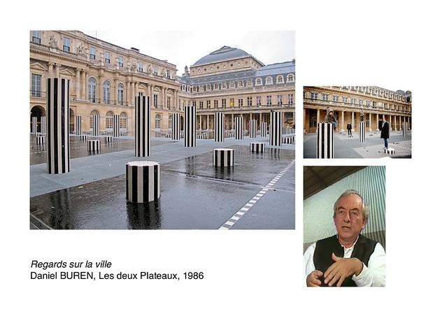 BUREN, Les deux Plateaux, 1986