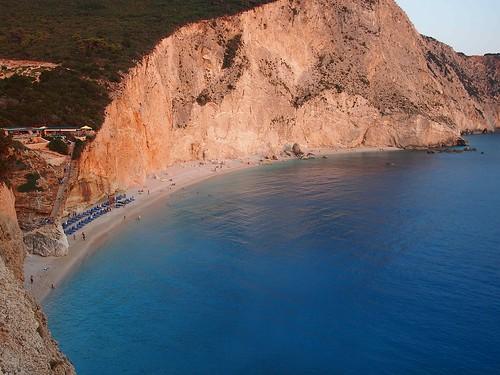 sea summer beach island hellas greece kefalonia