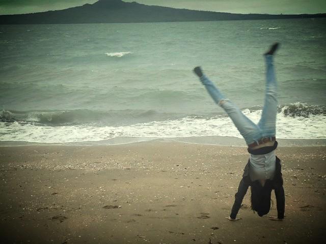 karrynpyora rannalla