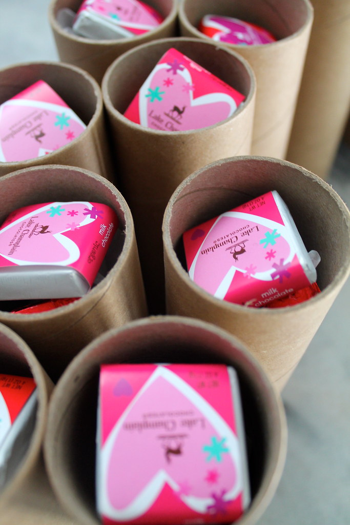 Valentine's in a Kraft Mailing Tube