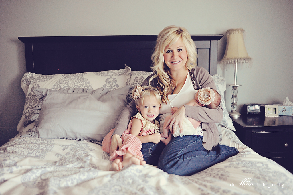 Mom and daughters photography in Rockford, Michigan