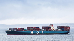 vehicle, freight transport, ship, sea, cargo ship, panamax, watercraft, container ship,