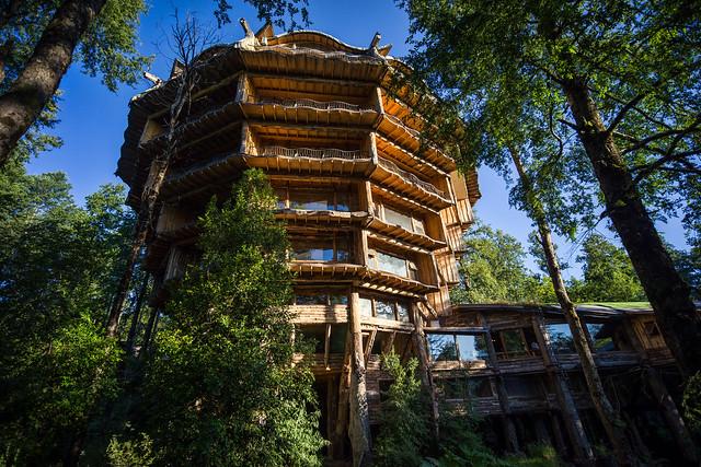 Nothafagus (ex Baobab) Hotel, Reserva Biológica Huilo Huilo, Chile - DSC09668