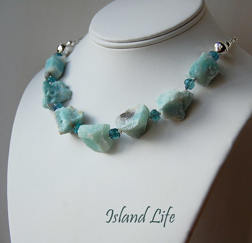 Island Life Necklace by gemwaithnia