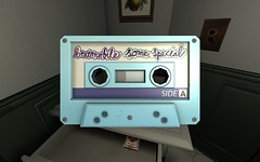 compact cassette, room,