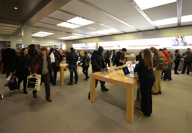 Tienda Apple de Manhatthan