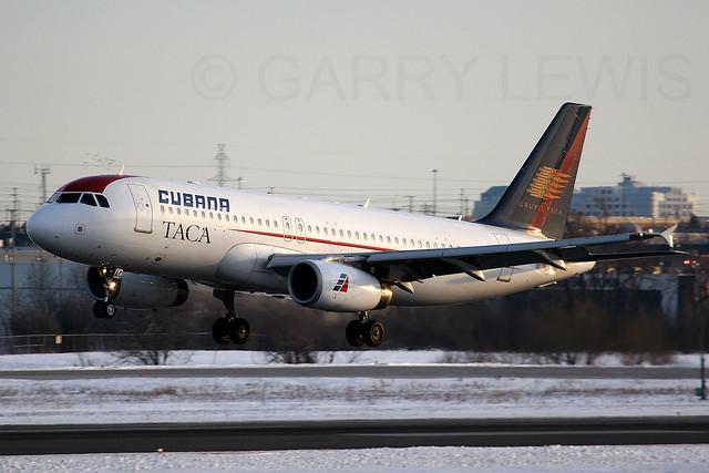 Cubana lsf TACA Airbus A320-200 EI-TAC