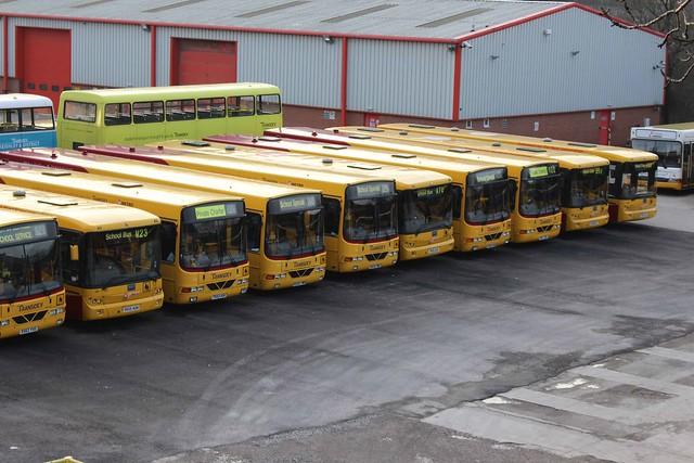 School Bus Fan : Flickriver west yorkshire school buses pool