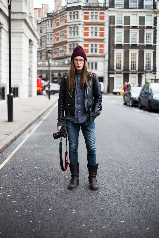 Street Style - Anthony, London Collections: Men