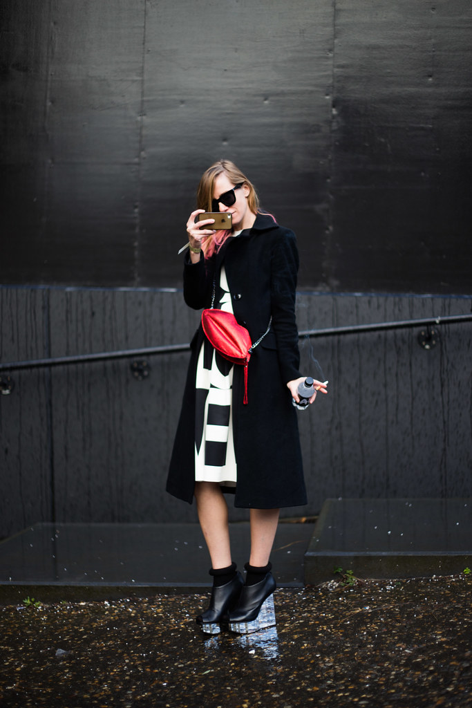 Street Style - Nastya, London Fashion Week