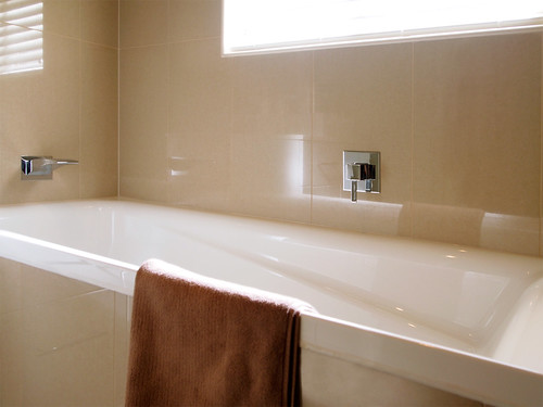 Bathroom renovation bath fittings