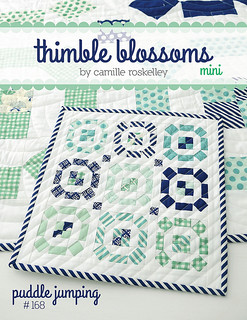 Puddle Jumping Mini Quilt Pattern by Thimble Blossoms Camille Roskelley