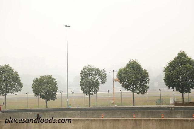 kuala lumpur haze sg besi airport