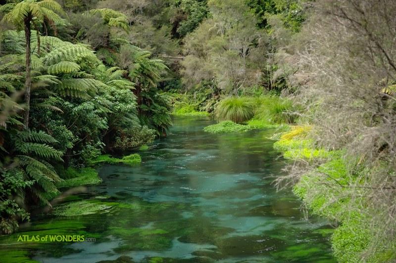 Río colores Nueva Zelanda