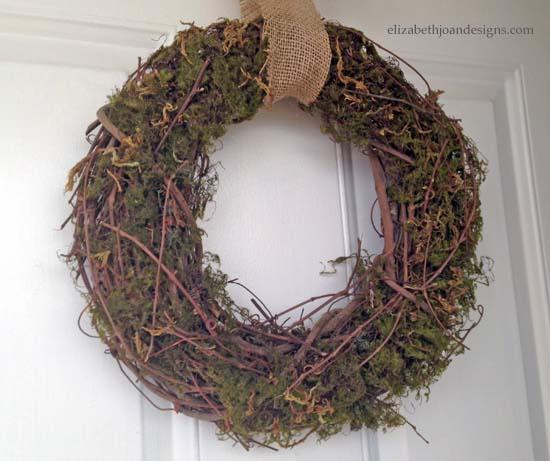 Spring Moss Wreath 9