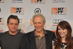 Matt Damon, Clint Eastwood and Bryce Dallas Howard