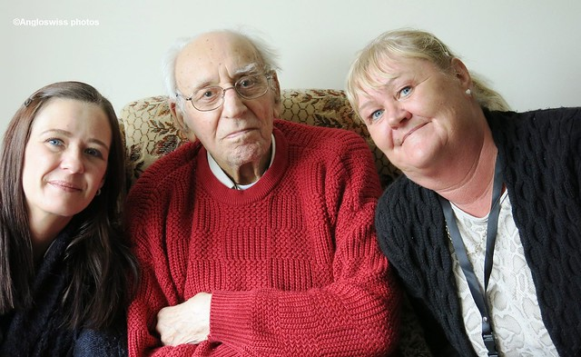 Vicky, dad and Brenda