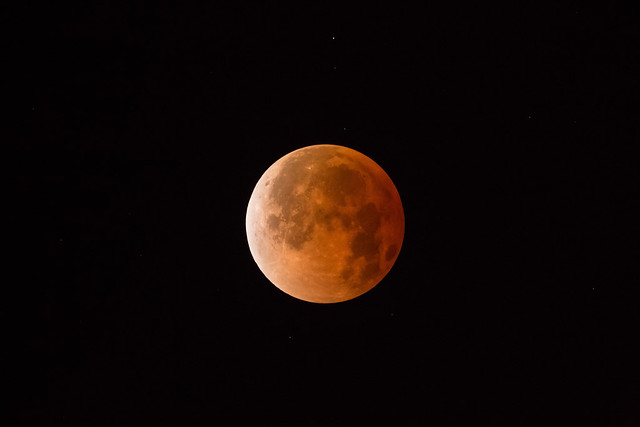 The 'Blood Moon' eclipse