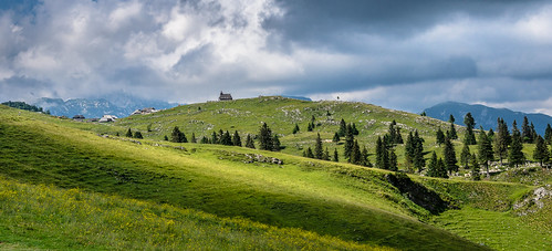 green nature clouds landscape slovenia velikaplanina nikond7000