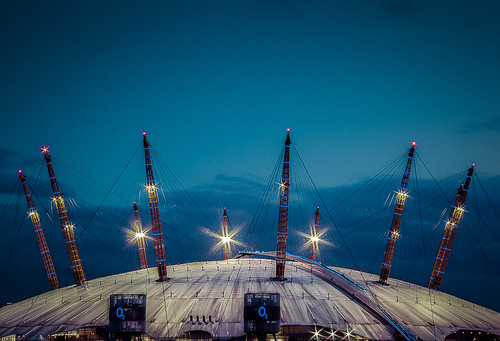 Blue Hour at the O2...